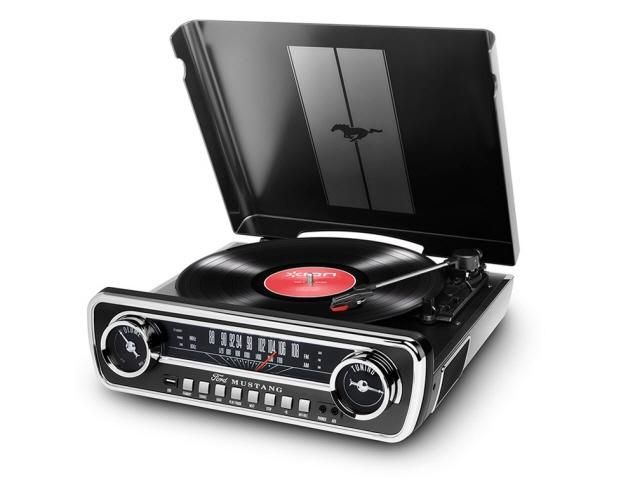 ION Audio コンポ Mustang LP [対応メディア:レコード 最大出力:2.4W] 【】【人気】【売れ筋】【価格】