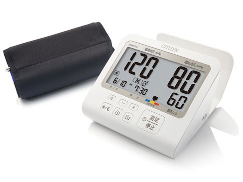 シチズン 血圧計 CHUE717J [計測方式:上腕式(カフ式) 電源:AC/乾電池 メモリー機能:90回×2人分(合計180回分)] 【】 【人気】 【売れ筋】【価格】