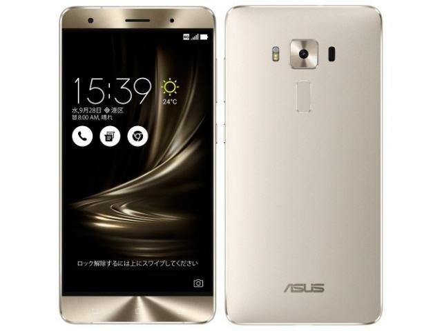 ASUS スマートフォン ZenFone 3 Deluxe ZS570KL-SL256S6 SIMフリー [シルバー] [キャリア:SIMフリー OS種類:Android 6.0 販売時期:2016年秋モデル 画面サイズ:5.7インチ 内蔵メモリ:ROM 256GB RAM 6GB バッテリー容量:3000mAh] 【】【人気】【売れ筋】【価格】