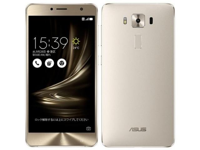 ASUS スマートフォン ZenFone 3 Deluxe ZS550KL-SL64S4 SIMフリー [シルバー] [キャリア:SIMフリー OS種類:Android 6.0 販売時期:2016年秋モデル 画面サイズ:5.5インチ 内蔵メモリ:ROM 64GB RAM 4GB バッテリー容量:3000mAh]