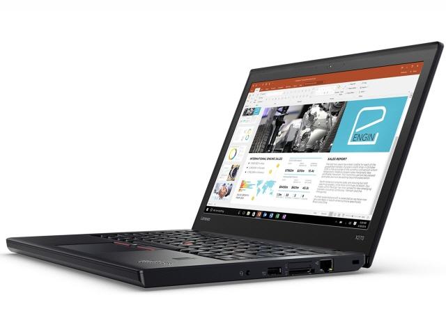 Lenovo ノートパソコン ThinkPad X270 20HN000VJP [液晶サイズ:12.5インチ CPU:Core i5 7300U(Kaby Lake)/2.6GHz/2コア CPUスコア:5084 ストレージ容量:SSD:256GB メモリ容量:4GB OS:Windows 10 Pro 64bit]