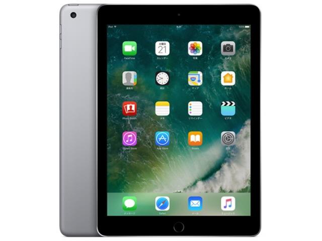 APPLE タブレットPC(端末)・PDA iPad Wi-Fi 32GB 2017年春モデル MP2F2J/A [スペースグレイ] [OS種類:iOS 10 画面サイズ:9.7インチ CPU:Apple A9 記憶容量:32GB] 【】【人気】【売れ筋】【価格】