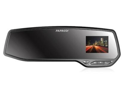 PAPAGO ドライブレコーダー GoSafe 372V2 GS372V2-16G [本体タイプ:ミラー型 画素数(フロント):総画素数:350万画素 駐車監視機能:オプション] 【】 【人気】 【売れ筋】【価格】