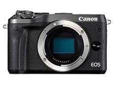 CANON デジタル一眼カメラ EOS M6 ボディ [ブラック] [タイプ:ミラーレス 画素数:2580万画素(総画素)/2420万画素(有効画素) 撮像素子:APS-C/22.3mm×14.9mm/CMOS 連写撮影/秒:9コマ 重量:343g] 【】 【人気】 【売れ筋】【価格】