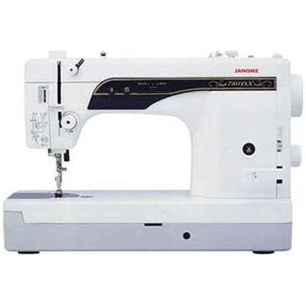 【キャッシュレス 5% 還元】 ジャノメ ミシン 780DX [主な機能:厚物縫い/自動糸切り 幅x高さx奥行:498x338x218mm] 【】 【人気】 【売れ筋】【価格】