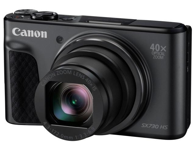 CANON デジタルカメラ PowerShot SX730 HS [ブラック] [画素数:2110万画素(総画素)/2030万画素(有効画素) 光学ズーム:40倍 撮影枚数:250枚 備考:顔検出] 【】 【人気】 【売れ筋】【価格】【半端ないって】
