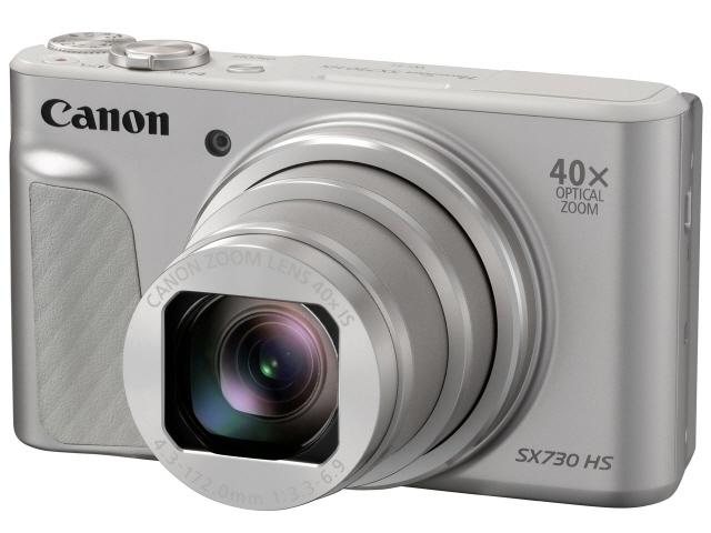CANON デジタルカメラ PowerShot SX730 HS [シルバー] [画素数:2110万画素(総画素)/2030万画素(有効画素) 光学ズーム:40倍 撮影枚数:250枚 備考:顔検出] 【】 【人気】 【売れ筋】【価格】【半端ないって】