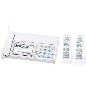 パナソニック 電話機 おたっくす KX-PZ610DW-W [ホワイト] [親機質量:2400g スキャナタイプ:本体 その他機能:コピー機能/ペーパーレス機能/SDメモリーカード対応/DECT準拠方式 電話機能:○]