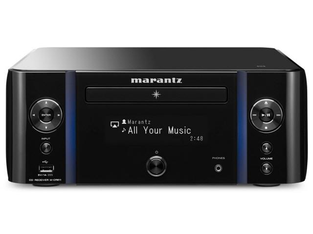 マランツ コンポ M-CR611 [ブラック] [対応メディア:CD/CD-R/RW 最大出力:120W ハイレゾ:○] 【】 【人気】 【売れ筋】【価格】【半端ないって】