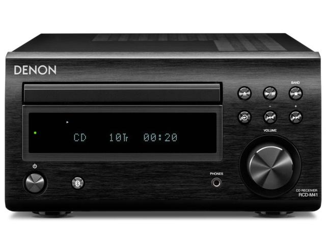 DENON コンポ RCD-M41-K [ブラック] [対応メディア:CD/CD-R/RW 最大出力:60W] 【】 【人気】 【売れ筋】【価格】