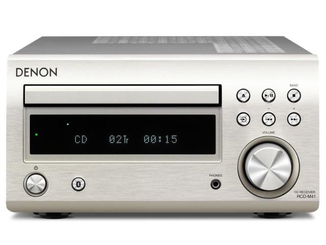 【ポイント5倍】DENON コンポ RCD-M41-SP [プレミアムシルバー] [対応メディア:CD/CD-R/RW 最大出力:60W]  【人気】 【売れ筋】【価格】