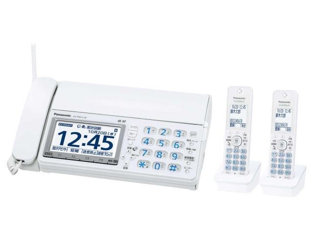 【キャッシュレス 5% 還元】 パナソニック 電話機 おたっくす KX-PD615DW-W [ホワイト] [親機質量:2400g スキャナタイプ:本体 その他機能:コピー機能/ペーパーレス機能/SDメモリーカード対応/DECT準拠方式 電話機能:○] 【】 【人気】 【売れ筋】【価格】
