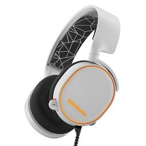 steelseries ヘッドセット SteelSeries ARCTIS 5 [ホワイト] [ヘッドホンタイプ:オーバーヘッド プラグ形状:USB/ミニプラグ 片耳用/両耳用:両耳用] 【】【人気】【売れ筋】【価格】