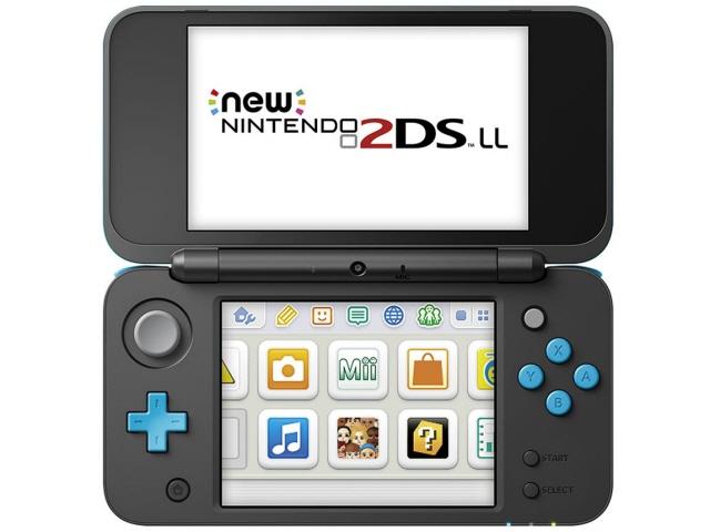 任天堂 ゲーム機 Newニンテンドー2DS LL [ブラック×ターコイズ]