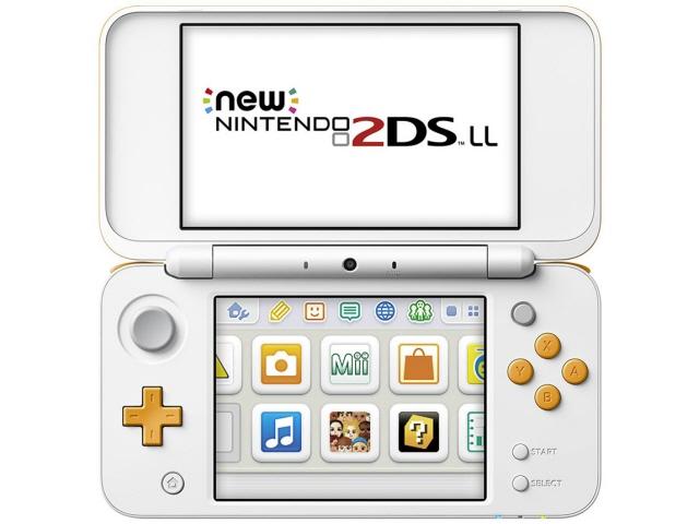 任天堂 ゲーム機 Newニンテンドー2DS LL [ホワイト×オレンジ] 【】 【人気】 【売れ筋】【価格】【半端ないって】
