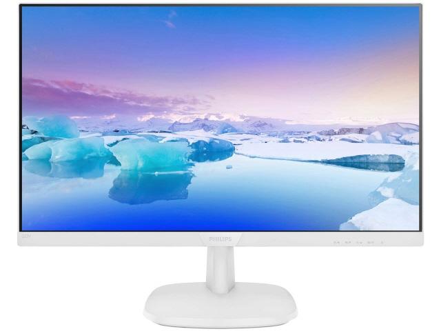 【代引不可】フィリップス 液晶モニタ・液晶ディスプレイ 223V7QHAW/11 [21.5インチ ホワイト] [モニタサイズ:21.5インチ モニタタイプ:ワイド 解像度(規格):フルHD(1920x1080) 入力端子:D-Subx1/HDMIx1]