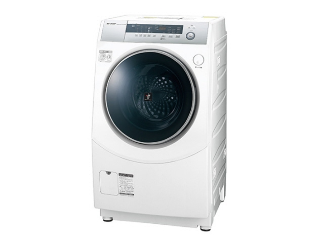 【代引不可】シャープ 洗濯機 ES-H10B-WL [洗濯機スタイル:洗濯乾燥機 ドラムのタイプ:斜型 開閉タイプ:左開き 洗濯容量:10kg 乾燥容量:6kg] 【】 【人気】 【売れ筋】【価格】