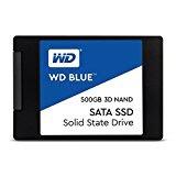【キャッシュレス 5% 還元】 WESTERN DIGITAL SSD WD Blue 3D NAND SATA WDS500G2B0A [容量:500GB 規格サイズ:2.5インチ インターフェイス:Serial ATA 6Gb/s タイプ:3D TLC NAND] 【】 【人気】 【売れ筋】【価格】