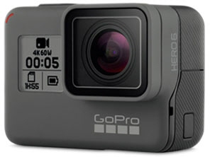 GoPro ビデオカメラ HERO6 BLACK CHDHX-601-FW [タイプ:アクションカメラ 画質:4K] 【】 【人気】 【売れ筋】【価格】【半端ないって】