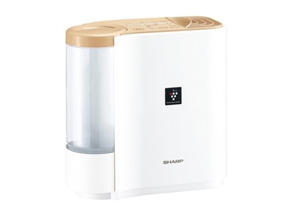【キャッシュレス 5% 還元】 シャープ 加湿器 HV-G30-C [ベージュ系] [加湿タイプ:気化式 設置タイプ:据え置き 適用畳数(木造和室):5畳 適用畳数(プレハブ洋室):8畳 タンク容量:2.4L その他機能:自動運転/除菌/DCモーター]