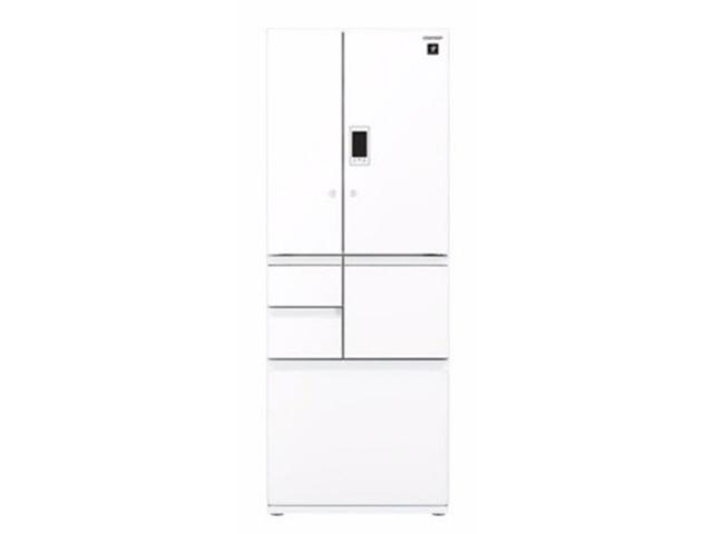 【代引不可】シャープ 冷凍冷蔵庫 SJ-GX50D-W [ピュアホワイト] [ドアの開き方:フレンチドア(観音開き) タイプ:冷凍冷蔵庫 ドア数:6ドア 定格内容積:502L] 【】 【人気】 【売れ筋】【価格】