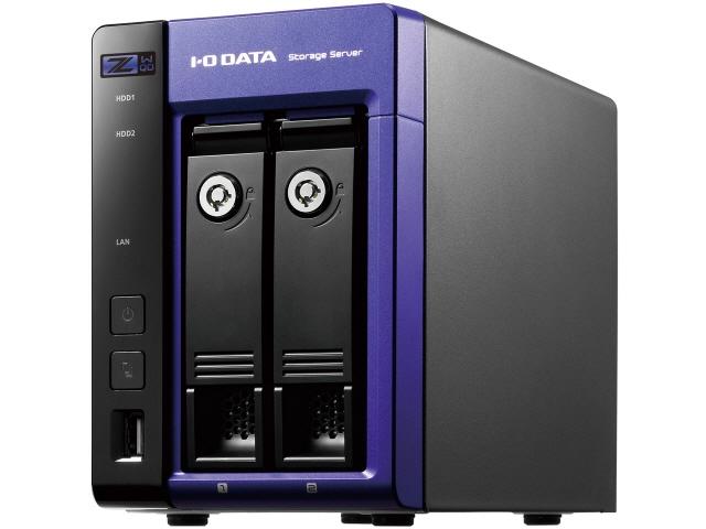 IODATA NAS LAN DISK Z HDL-Z2WQ4D [ドライブベイ数:HDDx2 容量:HDD:4TB] 【】 【人気】 【売れ筋】【価格】【半端ないって】