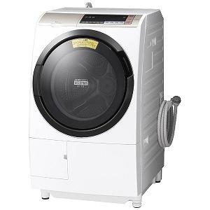 【代引不可】日立 洗濯機 ヒートリサイクル 風アイロン ビッグドラム BD-SV110BR [洗濯機スタイル:洗濯乾燥機 ドラムのタイプ:斜型 開閉タイプ:右開き 洗濯容量:11kg 乾燥容量:6kg] 【】 【人気】 【売れ筋】【価格】