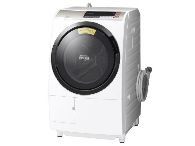 【代引不可】日立 洗濯機 ヒートリサイクル 風アイロン ビッグドラム BD-SV110BL(N) [シャンパン] [洗濯機スタイル:洗濯乾燥機 ドラムのタイプ:斜型 開閉タイプ:左開き 洗濯容量:11kg 乾燥容量:6kg] 【】【人気】【売れ筋】【価格】