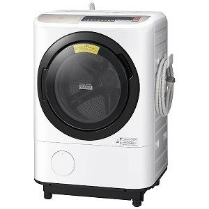 【代引不可】日立 洗濯機 ヒートリサイクル 風アイロン ビッグドラム BD-NX120BR [洗濯機スタイル:洗濯乾燥機 ドラムのタイプ:斜型 開閉タイプ:右開き 洗濯容量:12kg 乾燥容量:6kg] 【】 【人気】 【売れ筋】【価格】【半端ないって】