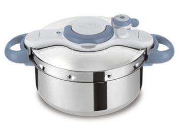 ティファール 圧力鍋 クリプソ ミニット イージー 4.5L P4620670 [サックスブルー] [タイプ:圧力鍋 容量:4.5L 重量:2.2kg IH対応:○] 【】【人気】【売れ筋】【価格】