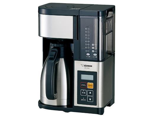 【キャッシュレス 5% 還元】 象印 コーヒーメーカー 珈琲通 EC-YS100 [容量:10杯 フィルター:紙フィルター/メッシュフィルター コーヒー:○] 【】 【人気】 【売れ筋】【価格】