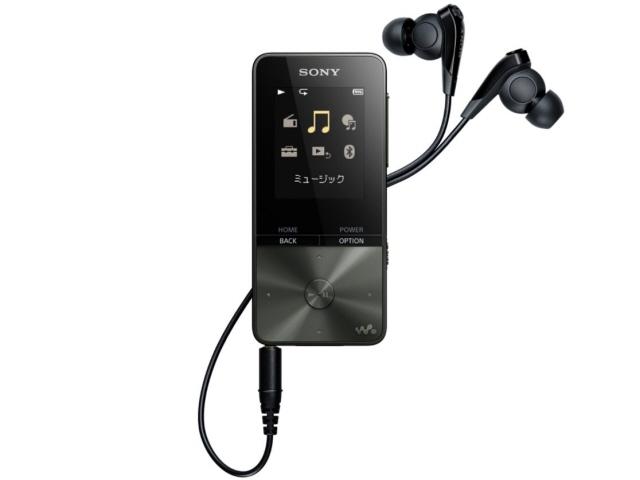 【キャッシュレス 5% 還元】 SONY MP3プレーヤー NW-S313 (B) [4GB ブラック] [記憶媒体:フラッシュメモリ 記憶容量:4GB 再生時間:52時間 インターフェイス:USB2.0/Bluetooth] 【】 【人気】 【売れ筋】【価格】