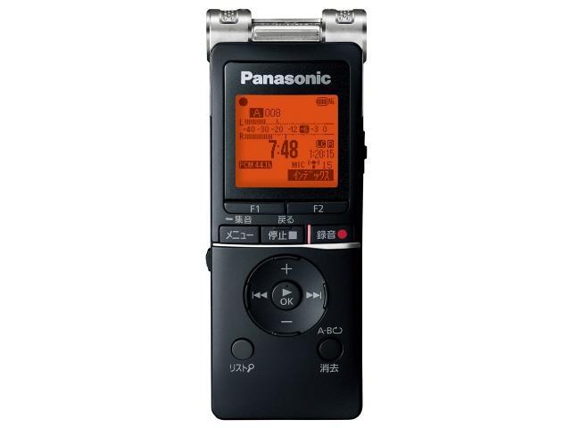 パナソニック ICレコーダー RR-XS470-K [ブラック] [内蔵メモリー容量:8GB 最大録音時間:2154.5時間] 【】 【人気】 【売れ筋】【価格】【半端ないって】
