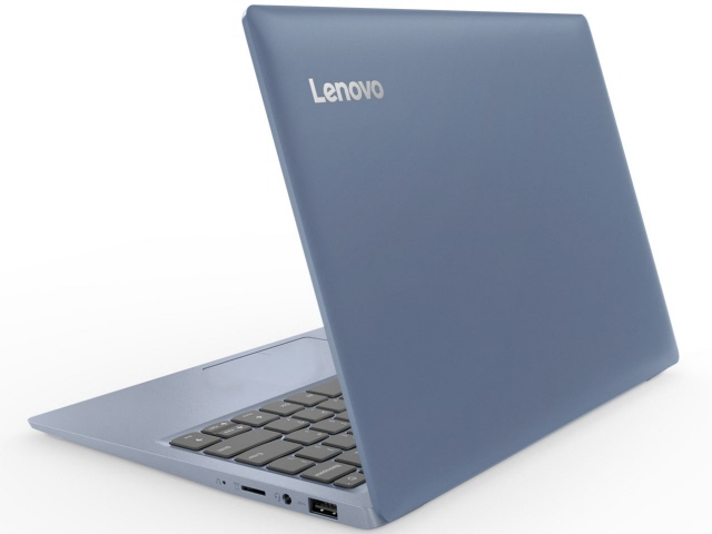 Lenovo ノートパソコン ideapad 120S 81A4004QJP [デニムブルー] [液晶サイズ:11.6インチ CPU:Celeron Dual-Core N3350(Apollo Lake)/1.1GHz/2コア CPUスコア:1107 ストレージ容量:eMMC:64GB メモリ容量:4GB OS:Windows 10 Home 64bit]