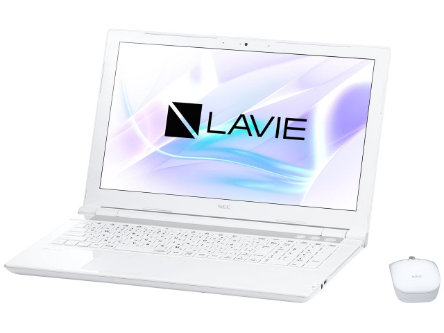 NEC ノートパソコン LAVIE Note Standard NS700/JAW PC-NS700JAW [エクストラホワイト] [液晶サイズ:15.6インチ CPU:Core i7 8550U(Kaby Lake Refresh)/1.8GHz/4コア CPUスコア:8321 ストレージ容量:HDD:1TB メモリ容量:8GB OS:Windows 10 Home 64bit]