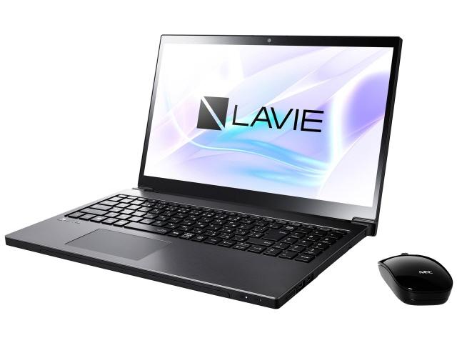 NEC ノートパソコン LAVIE Note NEXT NX550/JAB PC-NX550JAB [グレイスブラックシルバー] [液晶サイズ:15.6インチ CPU:Core i5 8250U(Kaby Lake Refresh)/1.6GHz/4コア CPUスコア:7676 ストレージ容量:HDD:1TB メモリ容量:4GB OS:Windows 10 Home 64bit]