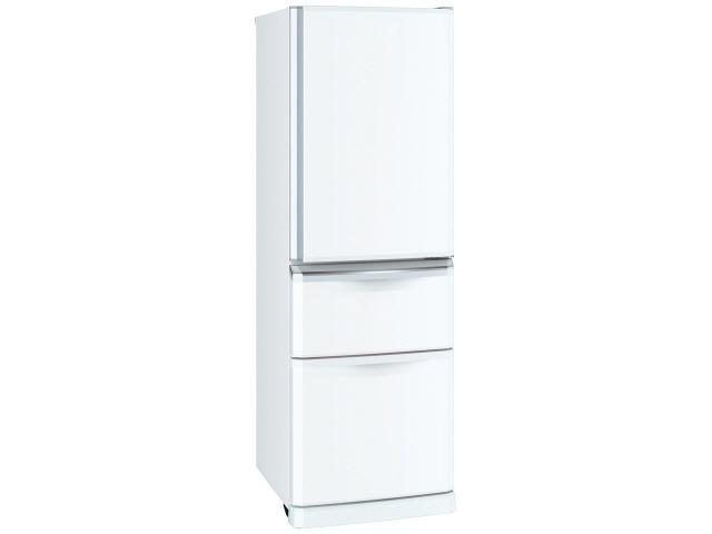 【代引不可】三菱電機 冷凍冷蔵庫 MR-C37C-W [パールホワイト] [省エネ評価:★★ ドアの開き方:右開き タイプ:冷凍冷蔵庫 ドア数:3ドア 定格内容積:370L] 【】 【人気】 【売れ筋】【価格】