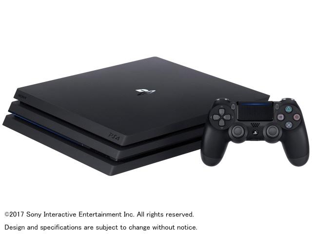 SONY ゲーム機 プレイステーション4 Pro CUH-7100BB01 [1TB ジェット・ブラック] 【】 【人気】 【売れ筋】【価格】【半端ないって】
