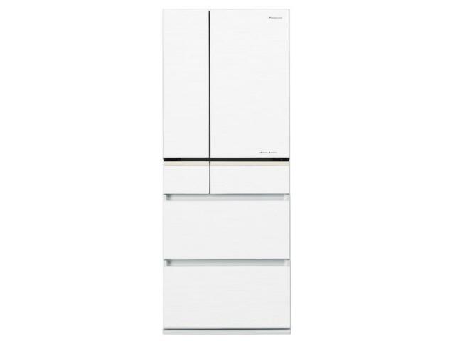 【代引不可】パナソニック 冷凍冷蔵庫 NR-F473XPV-W [スノーホワイト] [省エネ評価:★★★★ ドアの開き方:フレンチドア(観音開き) タイプ:冷凍冷蔵庫 ドア数:6ドア 定格内容積:470L] 【】 【人気】 【売れ筋】【価格】