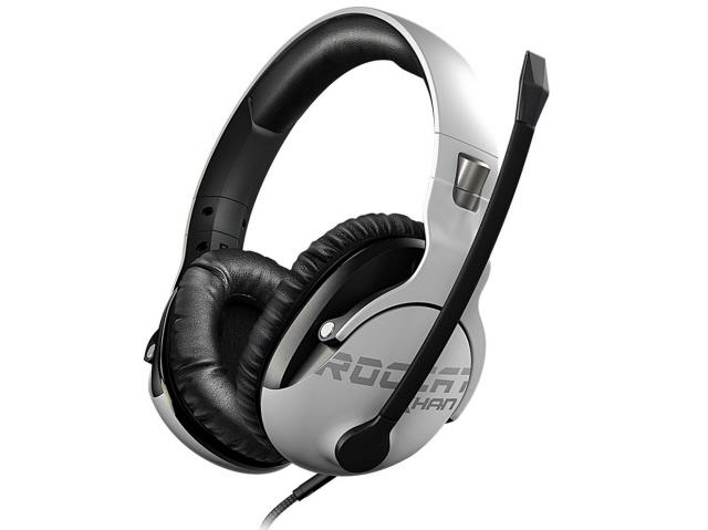 ROCCAT ヘッドセット ROCCAT Khan PRO ROC-14-621-AS [White] [ヘッドホンタイプ:オーバーヘッド プラグ形状:ミニプラグ 片耳用/両耳用:両耳用 ケーブル長さ:2.45m] 【】【人気】【売れ筋】【価格】