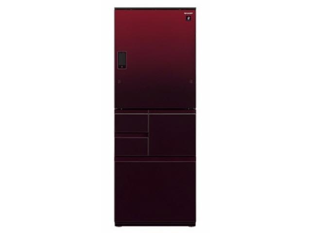【代引不可】シャープ 冷凍冷蔵庫 SJ-WX50D-R [グラデーションレッド] [ドアの開き方:左右開き タイプ:冷凍冷蔵庫 ドア数:5ドア 定格内容積:502L] 【】【人気】【売れ筋】【価格】
