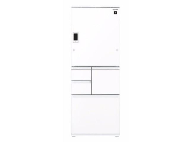 【ポイント5倍以上!最大3,000円OFFクーポン!9日~16日】 【代引不可】シャープ 冷凍冷蔵庫 SJ-WX55D-W [ピュアホワイト] [ドアの開き方:左右開き タイプ:冷凍冷蔵庫 ドア数:5ドア 定格内容積:551L] 【】【人気】【売れ筋】【価格】