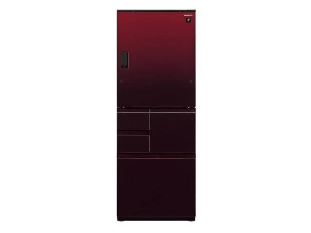 【ポイント5倍以上!最大3,000円OFFクーポン!9日~16日】 【代引不可】シャープ 冷凍冷蔵庫 SJ-WX55D-R [グラデーションレッド] [ドアの開き方:左右開き タイプ:冷凍冷蔵庫 ドア数:5ドア 定格内容積:551L] 【】【人気】【売れ筋】【価格】