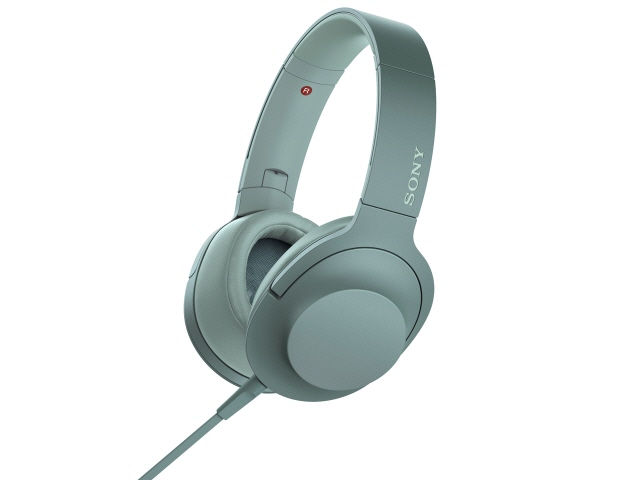 SONY イヤホン・ヘッドホン h.ear on 2 MDR-H600A (G) [ホライズングリーン] [タイプ:オーバーヘッド 装着方式:両耳 構造:密閉型 駆動方式:ダイナミック型 再生周波数帯域:5Hz~60kHz ハイレゾ:○]