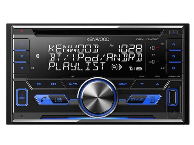 【キャッシュレス 5% 還元】 ケンウッド カーオーディオ DPX-U740BT [タイプ:プレーヤー 取付形状:2DIN 搭載プレーヤー:CD Bluetooth:Bluetooth 3.0 最大出力:50Wx4] 【】 【人気】 【売れ筋】【価格】