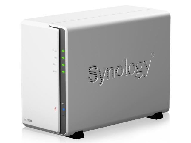 【キャッシュレス 5% 還元】 Synology NAS DiskStation DS218j [ドライブベイ数:HDDx2 DLNA:○] 【】 【人気】 【売れ筋】【価格】