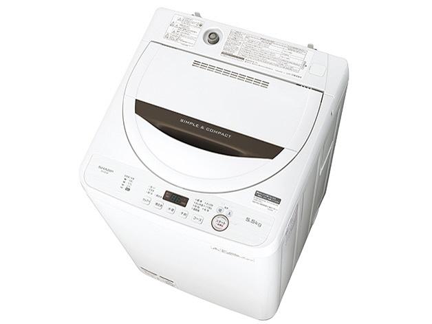 【代引不可】シャープ 洗濯機 ES-GE5B [洗濯機スタイル:簡易乾燥機能付洗濯機 開閉タイプ:上開き 洗濯容量:5.5kg] 【】 【人気】 【売れ筋】【価格】