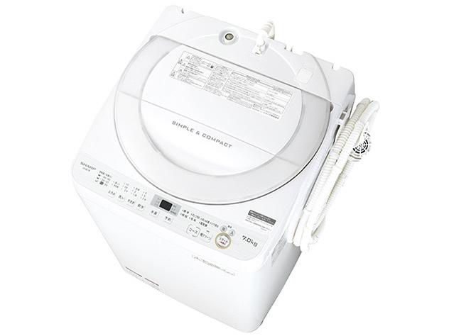 【代引不可】シャープ 洗濯機 ES-GE7B [洗濯機スタイル:簡易乾燥機能付洗濯機 開閉タイプ:上開き 洗濯容量:7kg] 【】 【人気】 【売れ筋】【価格】