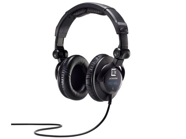 ULTRASONE イヤホン・ヘッドホン PRO480i [タイプ:オーバーヘッド 装着方式:両耳 構造:密閉型 駆動方式:ダイナミック型 再生周波数帯域:20Hz~20kHz] 【】【人気】【売れ筋】【価格】