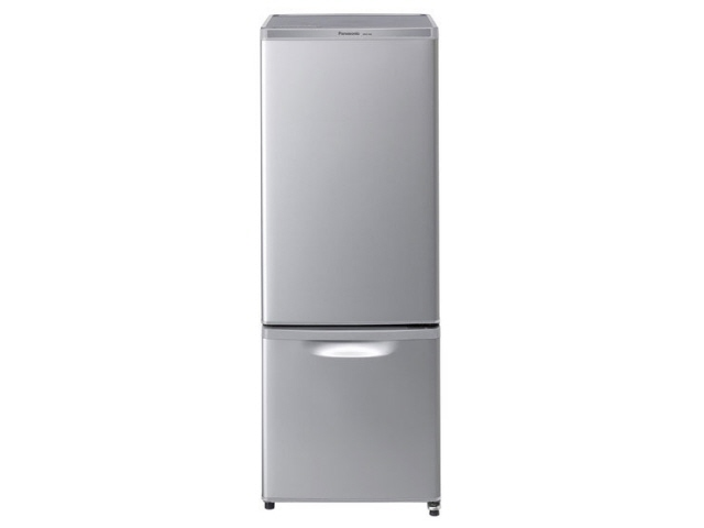 【代引不可】パナソニック 冷凍冷蔵庫 NR-B17AW-S [シルバー] [省エネ評価:★★★★★ ドアの開き方:右開き タイプ:冷凍冷蔵庫 ドア数:2ドア 定格内容積:168L] 【】【人気】【売れ筋】【価格】